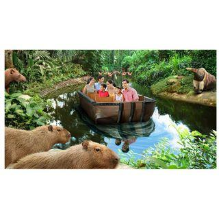 River Safari Tickets (E-Ticket)