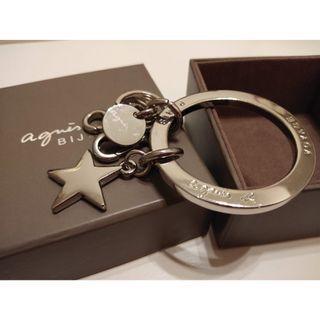 (包郵)agnes b agnesb 男裝 女裝 鎖匙扣 鎖匙牌