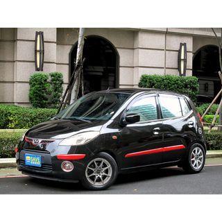 省錢小車 節日特惠專案 2010年Hyundai i10 僅跑9萬 全車原鈑件無事故泡水認證車 1.1的排氣量一年稅金加起來才8000多塊 省錢省油好幫手