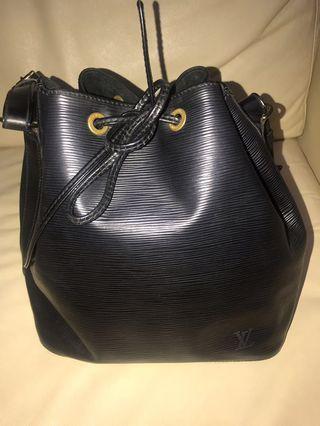 Black Noe Epi Leather Louis Vuitton