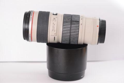 Canon 70-200mm F4L lens