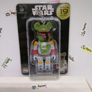 Bearbrick x Star Wars Boba Fett bounty hunter figure  (genuine licensed)