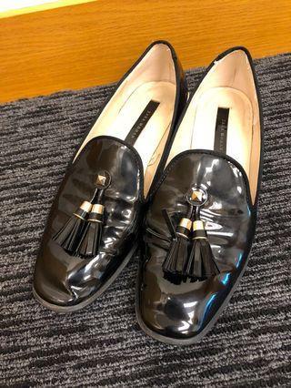 Zara loafers black size 37