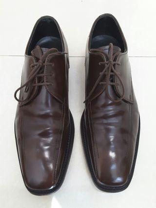 英製  Loake McQueen brown lace up shoes