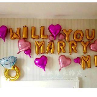 Successful Proposal Balloon Set #00917
