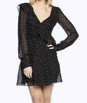 Bardot Spot Dress