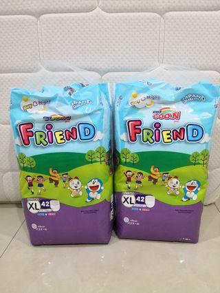 Goon friend pants diaper combo
