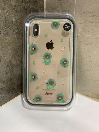 Line Friends Jungle Brown iPhone XS Max case/ cover