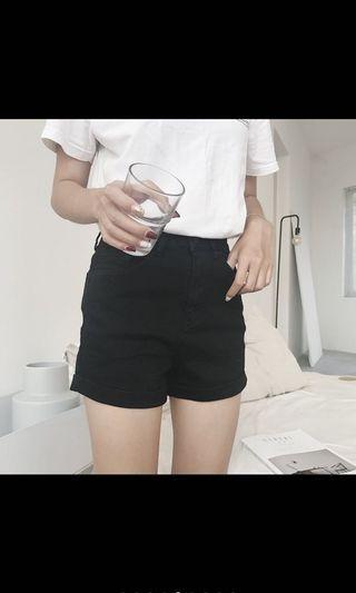 🚚 含運❤️高腰黑色短褲