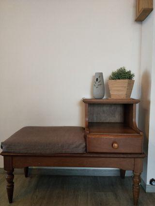 Antique Telephone / Side / Entrance Table