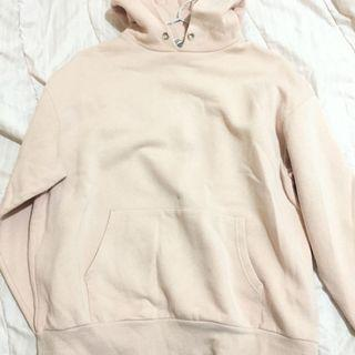 Divided oversize hoodie