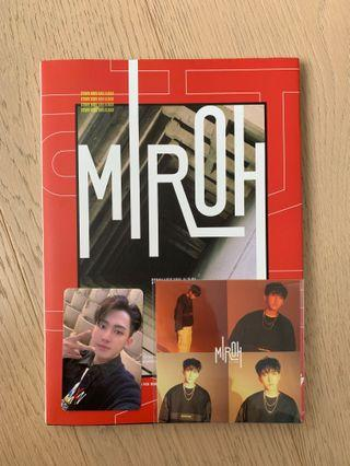 stray kids miroh limited edition album