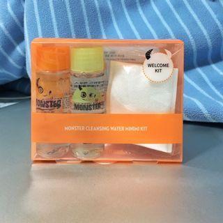 Etude House 卸妝水套裝 Monster Micellar Cleansing Water ( travel kit 旅行套裝 )