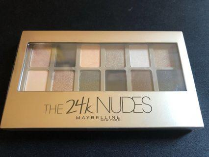 Maybelline 24K Nudes Palette