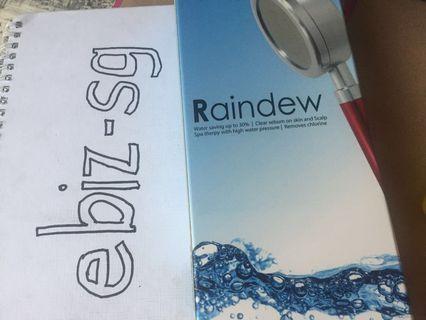 🚚 Raindew Shower Head from Rainbow