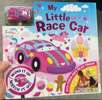 My Little Race Car 🏎 Fold-Out Play Track Board Book