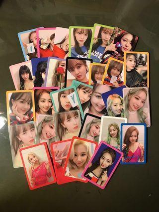 [WTT/LF/WTB] TWICE FANCY YOU PHOTOCARDS LENTICULAR LENTI CARDS