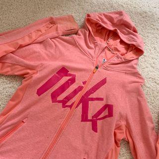 Nike 粉色外套