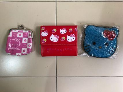 🚚 Hello Kitty Wallet Collection