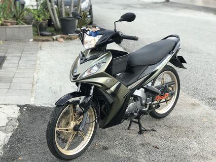Yamaha lc135 lc v1 last model tiptop