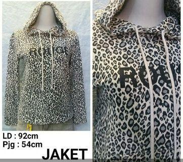 Jaket macan hoodie