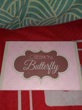 PRELOVED - Beauty Creations Butterfly Eyeshadow Palette