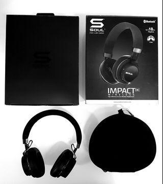 Soul Impact Oe bluetooth noise cancelling headphones!