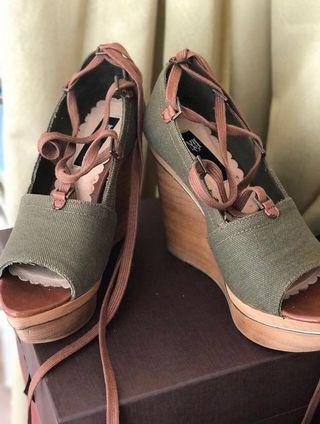 Sandal wedges Mango #BAPAU