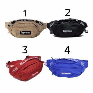 ⚡️INSTOCK FAST DELIVERY⚡️ Supreme 18SS 19SS Waist Pouch / Crossbody Bag / Sling Bag / 🌟HIGH QUALITY