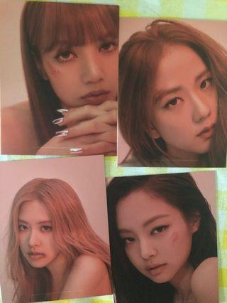 KILL THIS LOVE PUZZLE PIECE ROSE LISA JENNIE JISOO
