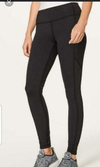 Lululemon black speed tight V