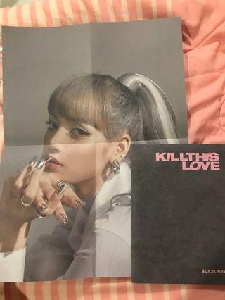 (ONHAND) x2 Lisa OFFICAL POSTER