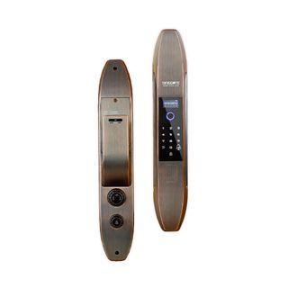 SMART DOOR LOCK SINGGATE BLACK GOLD FA001 FULLY AUTOMATIC (FREE INSTALLATION WITH 2 YEARS WARRANTY)