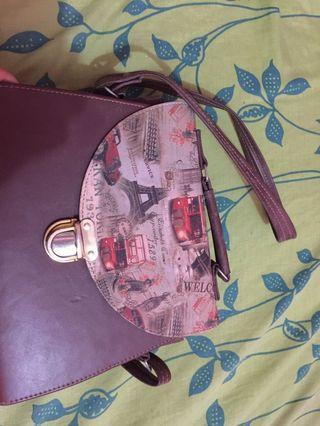 #BAPAU slingbag