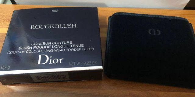 Dior Poison Matte(962)Rouge Blush Review&Swatches