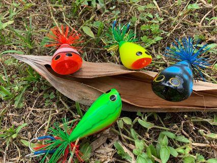 Thailand Handcraft Jump Frogs