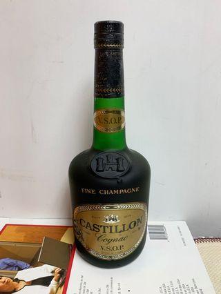 陳年老酒Castillon vsop 700ml