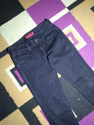 #BAPAU Jeans Back Number Hitam *ORIGINAL