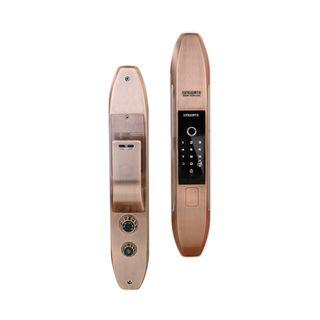 SMART DOOR LOCK SINGGATE BRONZE FA001 FULLY AUTOMATIC (FREE INSTALLATION WITH 2 YEARS WARRANTY)
