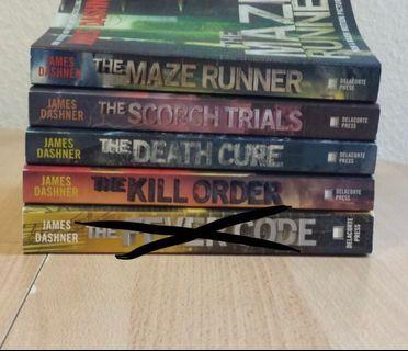 the maze runner book series #MTRmk