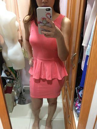 Supre peplum dress