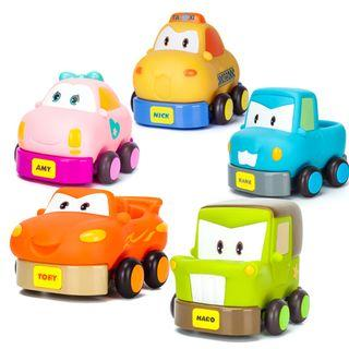 Preorder – Carboom Haro Toby Amy Nick Kane Pull Back Car Toy (for Ages 3 and up)