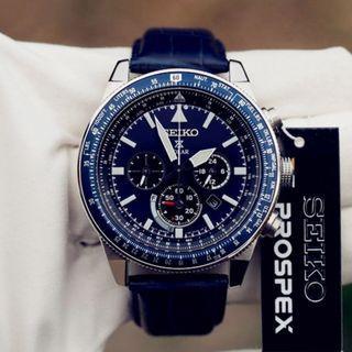 [BNIB] Seiko Prospex Solar Chronograph SSC609 SSC609P1 SSC609P Men's Watch