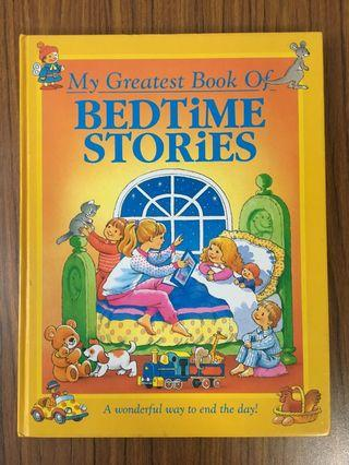 🚚 My greatest book of bedtime stories
