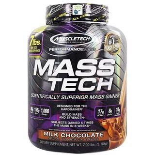 🚚 7Lbs, Muscletech, Masstech, Mass Gainer, Whey Protein, Protein Powder