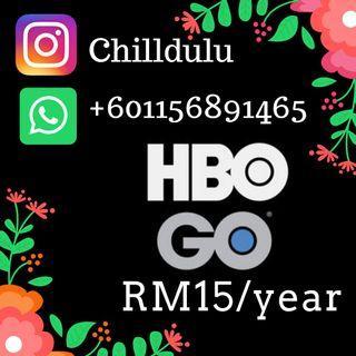 HBO GO Premium Account (1 Year)