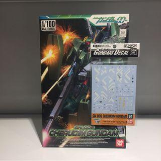 Bandai 1/100 Cherudim Gundam & Waterslide Decal