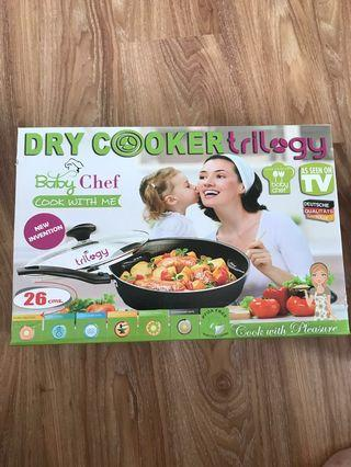 Baby Chef Cooking Wok (26cm) - free induction cooker