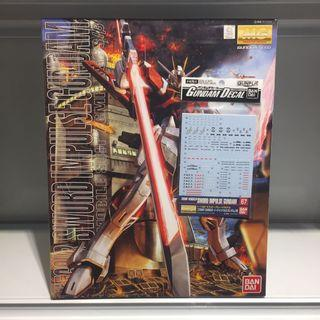 Bandai MG Sword Impulse Gundam & Waterslide Decal