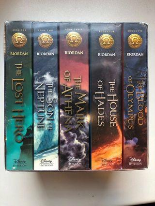 The Heroes of Olympus The complete boxed set